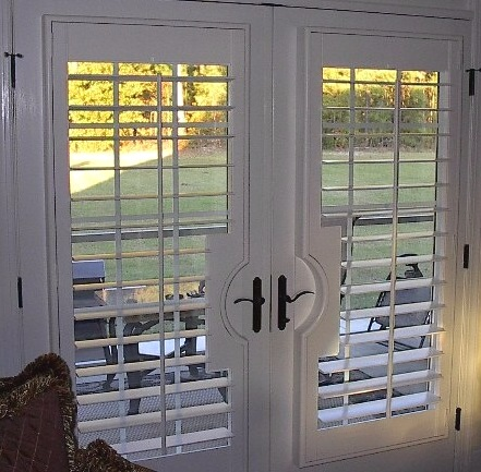French Door Plantation Shutters 1500 Trend Home Design 1500