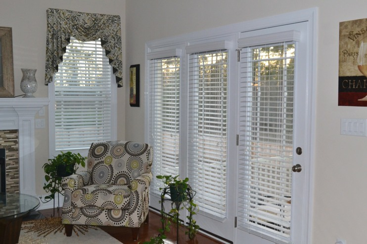 Blind Door Amp Window Treatments For Sliding Glass Doors By